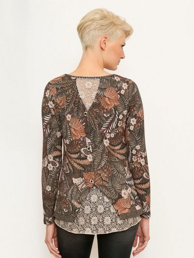 Amy Vermont Longshirt Allover Printed