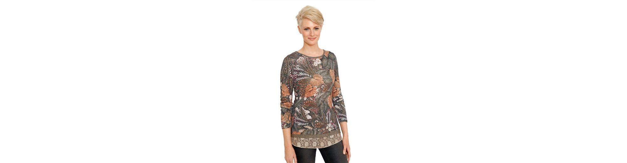 Amy Vermont Longshirt allover bedruckt Günstiges Shop-Angebot iruf2j