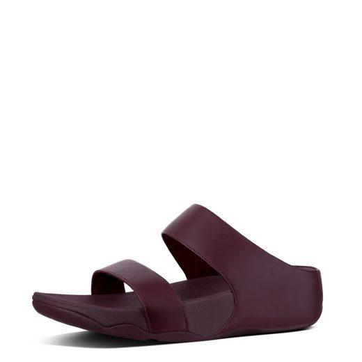 Fitflop Lulu Leather Slide Pantolette