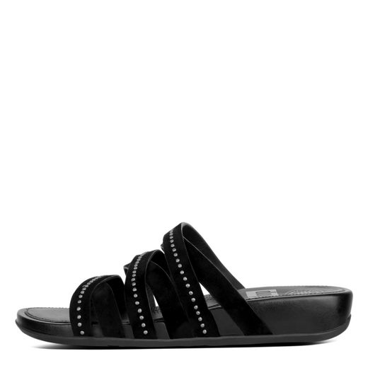 Fitflop LUMY LEATHER SLIDE WITH STUDS Sandale