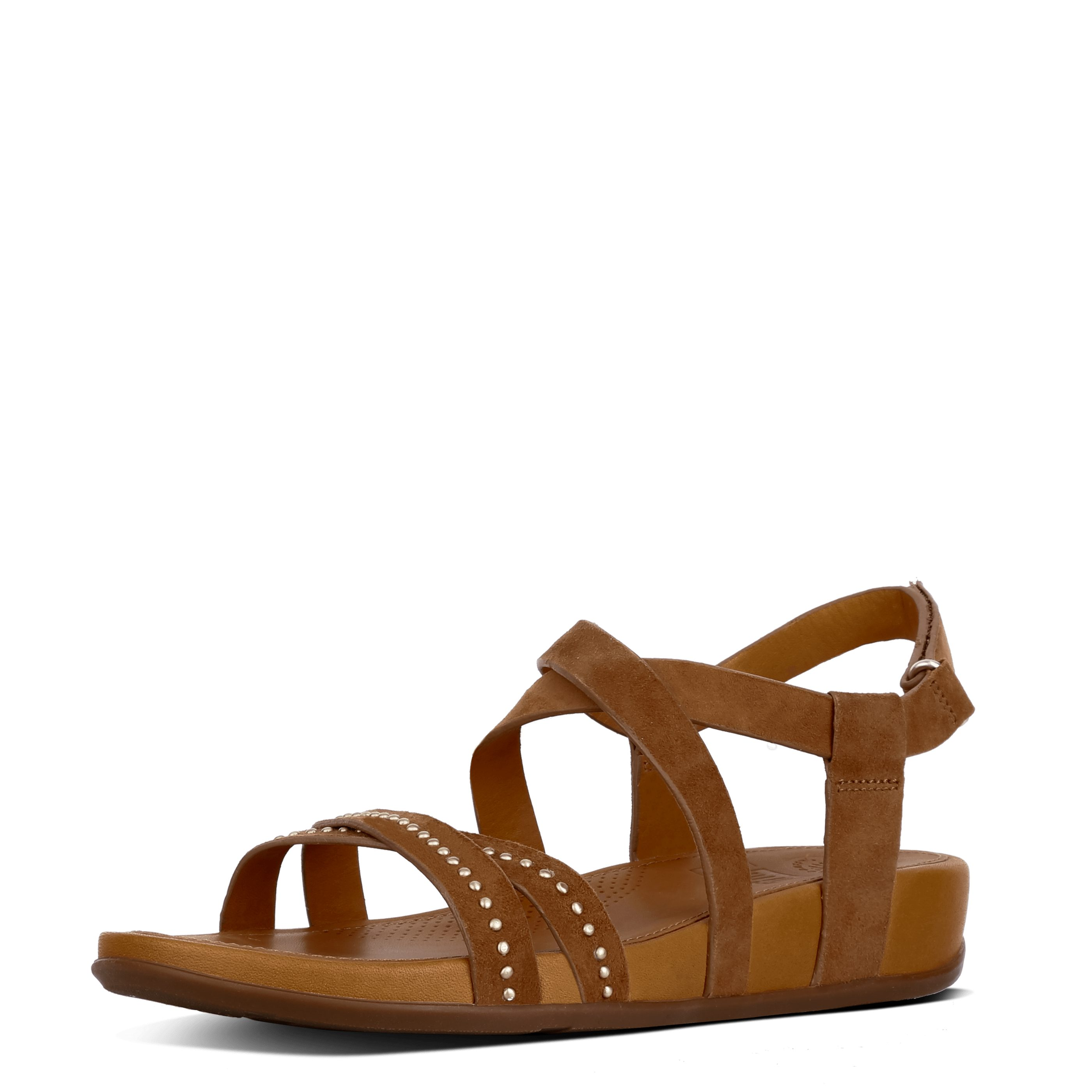 Fitflop LUMY CRISS CROSS SANDALS WITH STUDS Sandale online kaufen  braun
