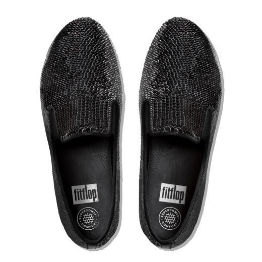 Fitflop SUPERSKATE WITH SEQUINS Slipper