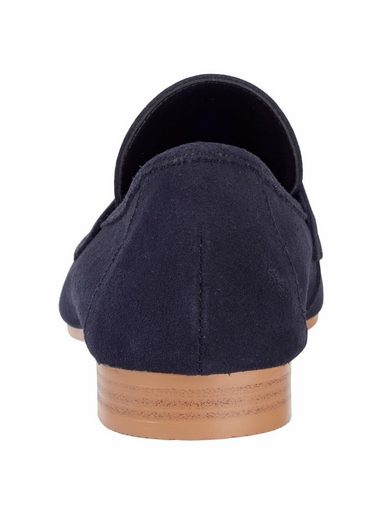 Heine Slipper aus Veloursleder