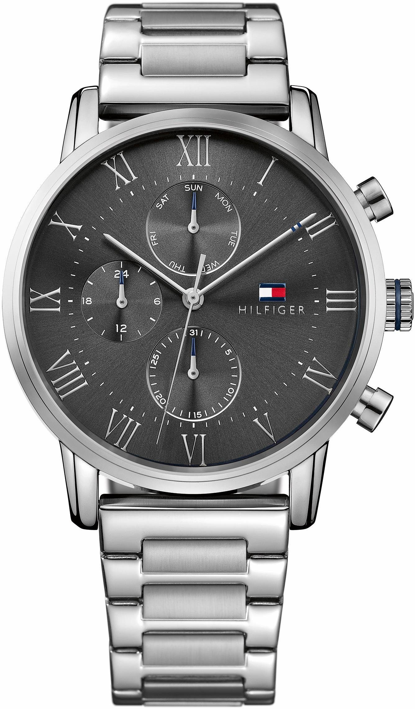 TOMMY HILFIGER Multifunktionsuhr »Sophisticated Sport, 1791397«
