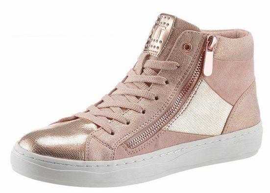 Marco Tozzi Sneaker, mit Metallic Effekt