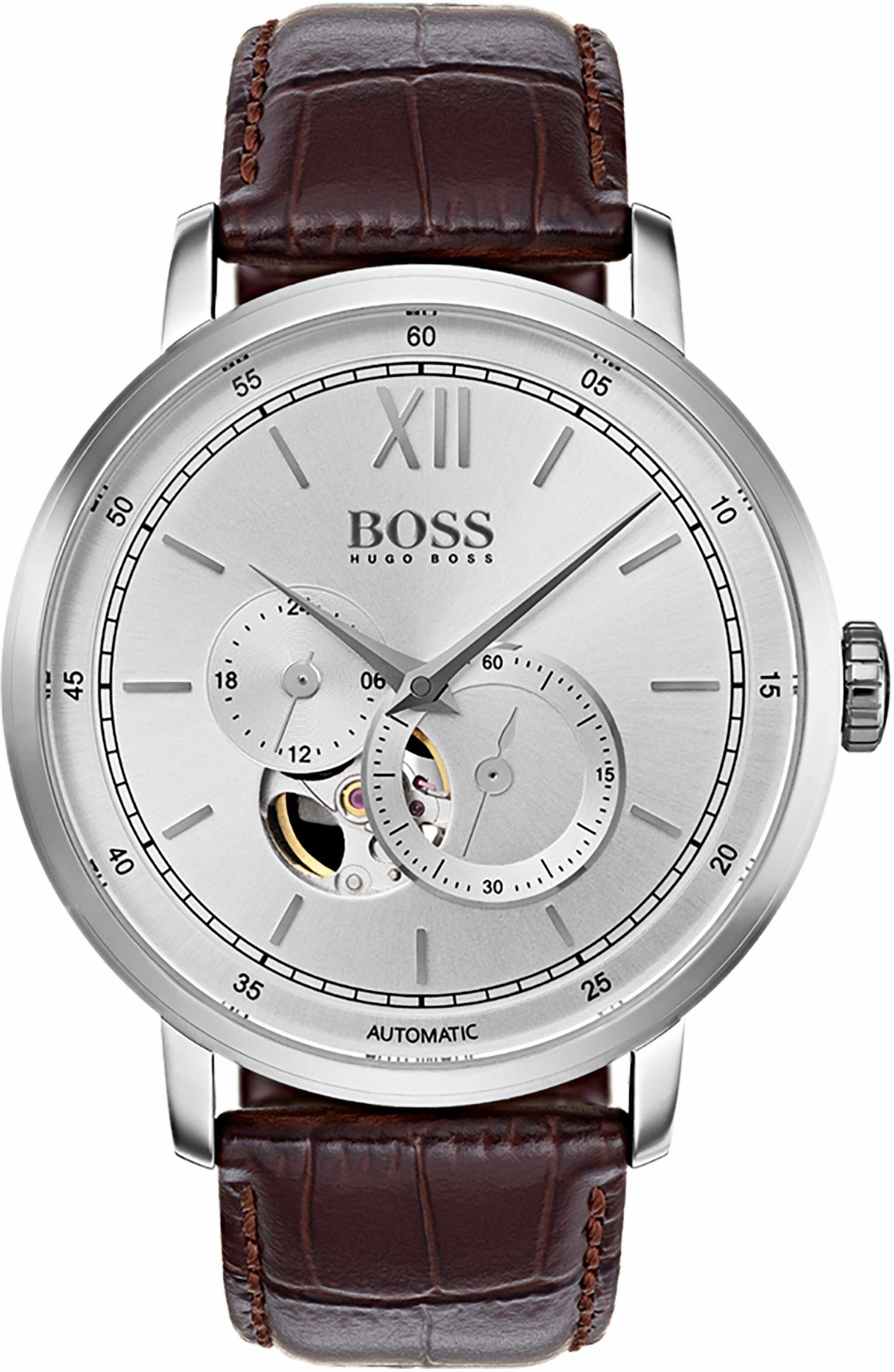 Boss Automatikuhr »SIGNATURE TIMEPIECE COLLECTION, 1513505«, mit kleiner Sekunde