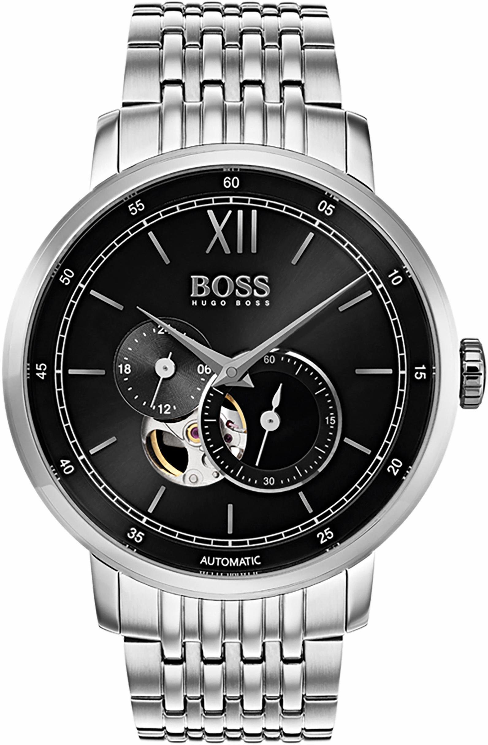 Boss Automatikuhr »SIGNATURE TIMEPIECE COLLECTION, 1513507«, mit kleiner Sekunde
