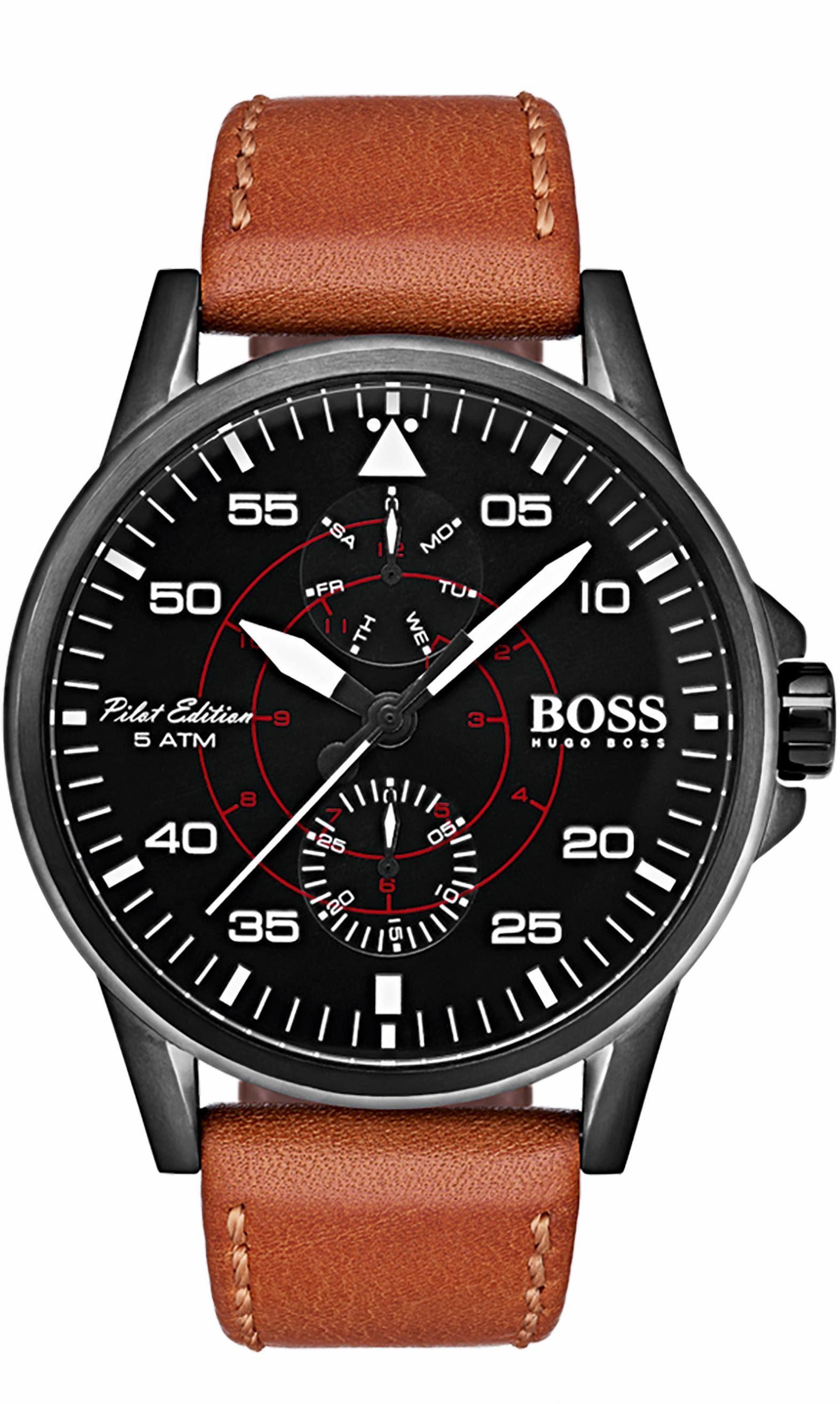 Boss Multifunktionsuhr »AVIATOR, 1513517«