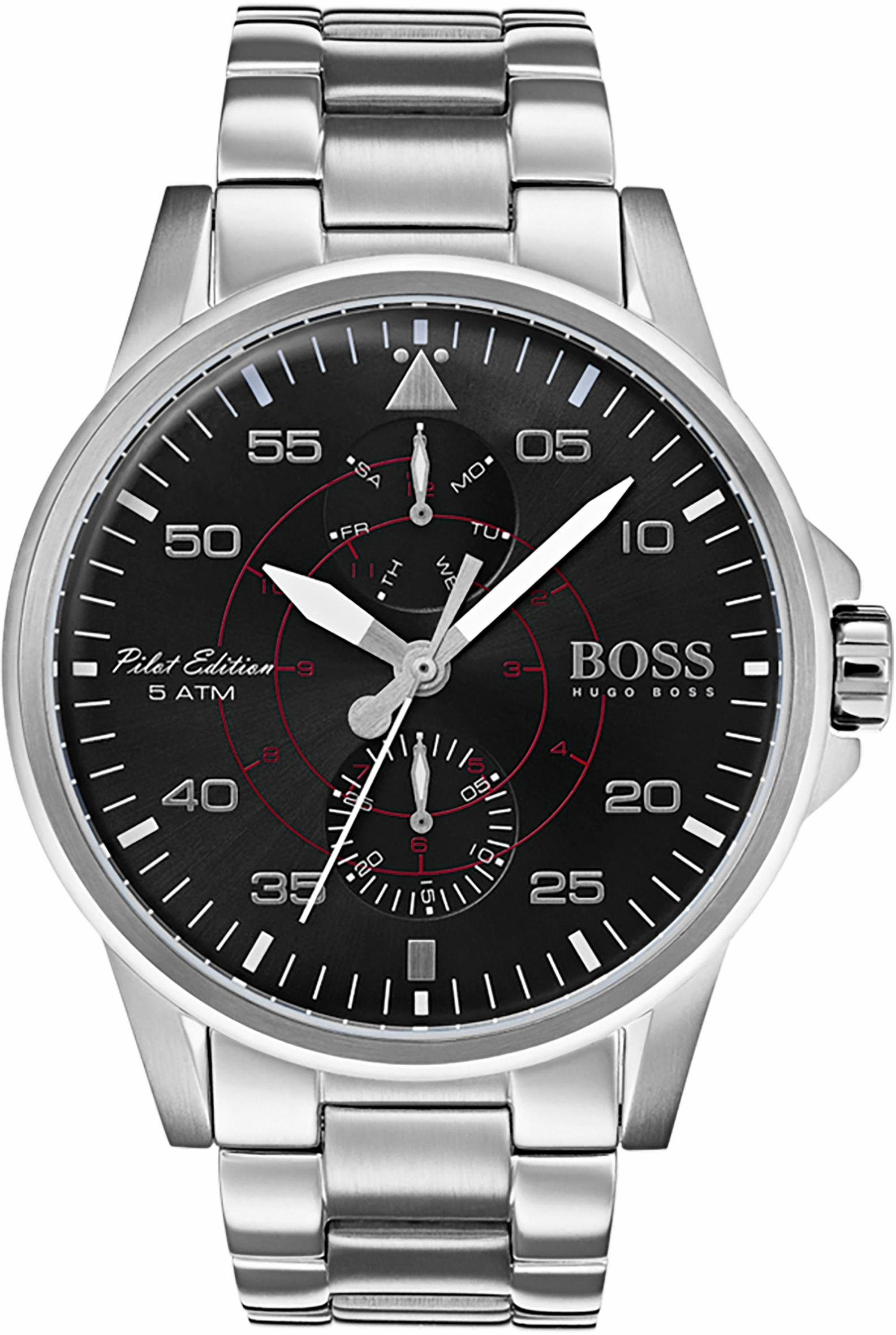 Boss Multifunktionsuhr »AVIATOR, 1513518«