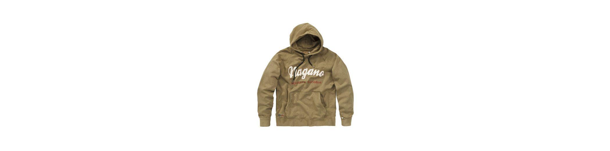 Verkauf Großer Diskont Verkauf Extrem NAGANO Kapuzensweatshirt mit Stickerei KAPPU kWzYb3tfM
