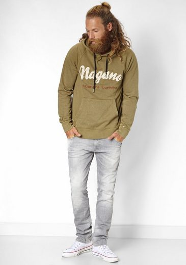 Nagano Hooded Sweatshirt With Embroidery Kappu