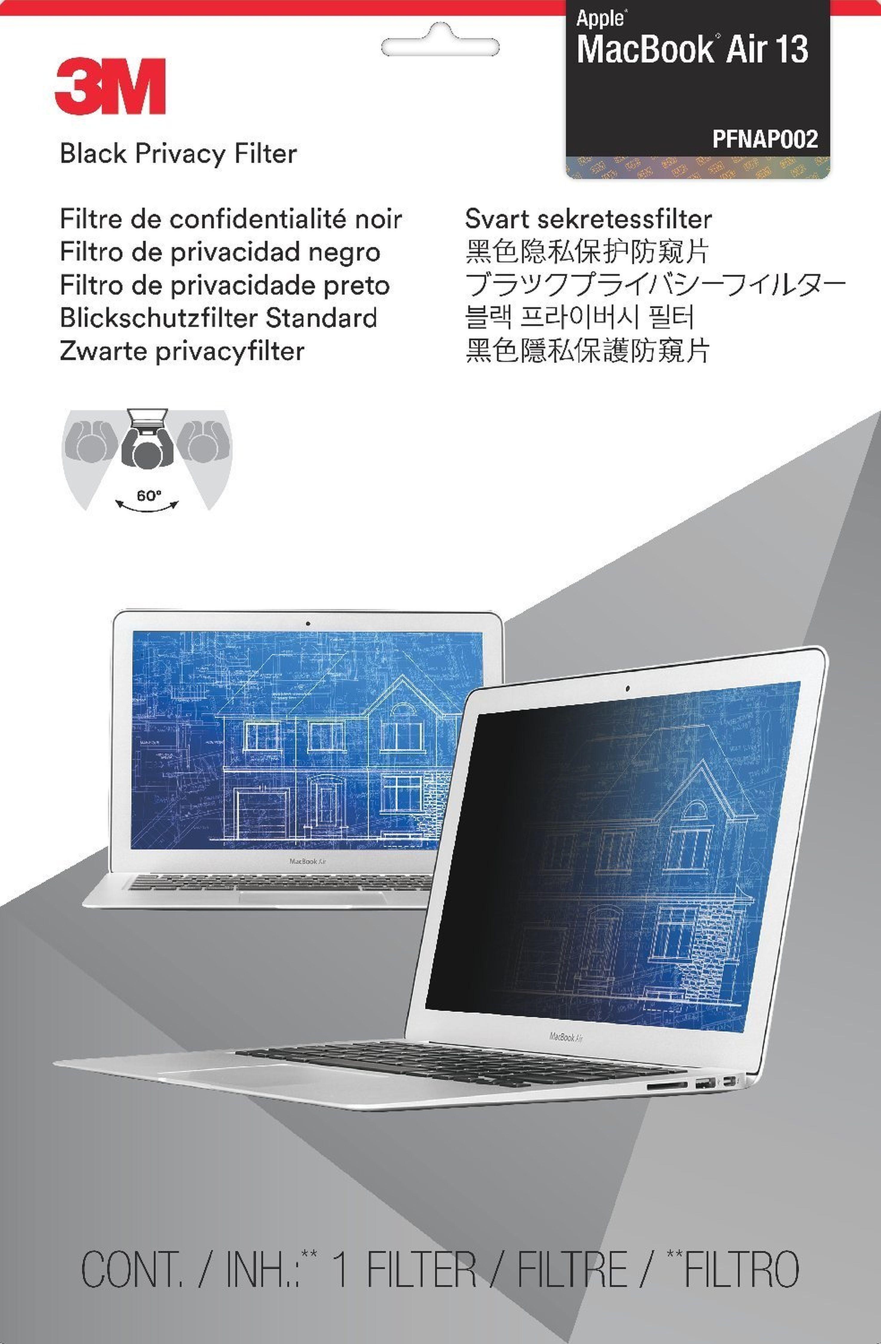 """3M PFMA13 Blickschutz Apple MacBook Air »für Notbook 33 cm (13"""")«"""