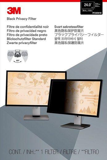 3M PF24.0W Blickschutzfilter Standard »für Desktop 61 cm (24)«