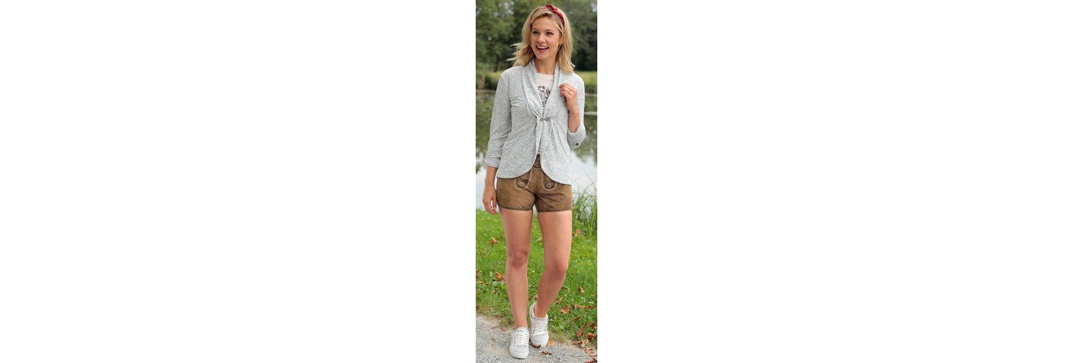 Billig Verkauf In Deutschland Hangowear Trachtenstrickjacke Damen mit Schalkragen Neue Stile Verkauf Online FhmfQk