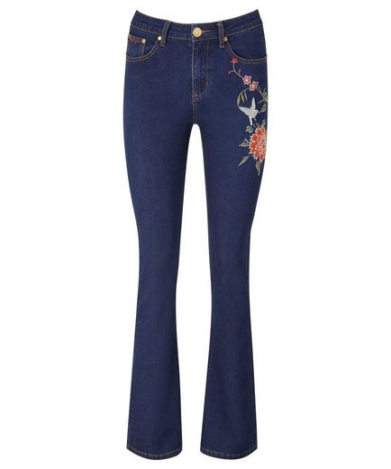 Joe Browns Bootcut-Jeans Joe Browns Women's Bootcut Stretch Jeans with embroided detail