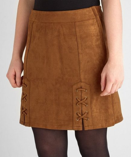 Joe Browns Minirock Joe Browns Women's Suede Mini Pencil Skirt