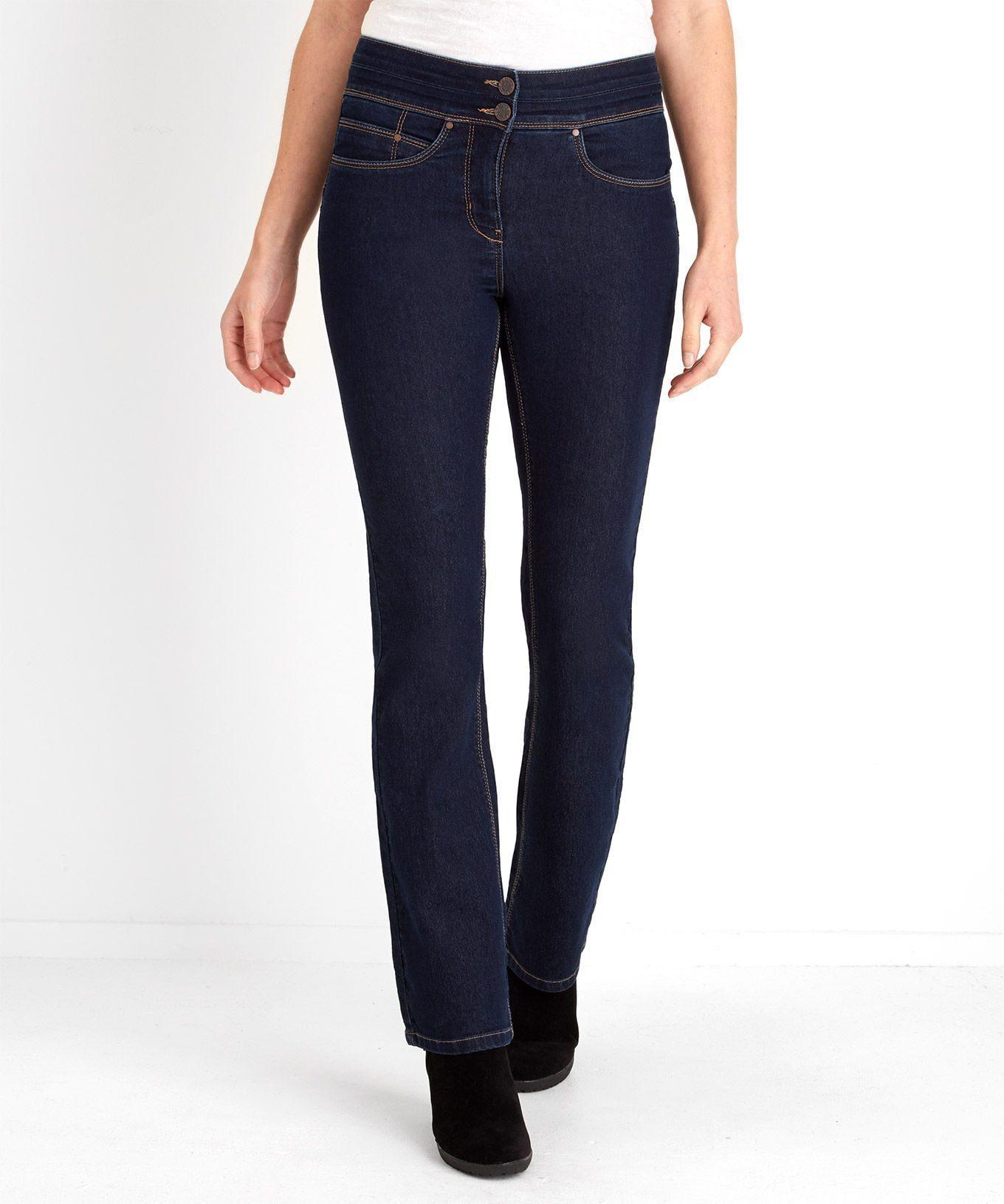 Joe Browns Bootcut-Jeans »Bootcut-Stretch-Denim-Jeans mit breitem Bund von Joe Browns für Damen«