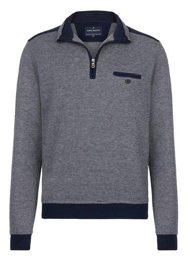 Daniel Hechter Sweatshirt mit Stehkragen