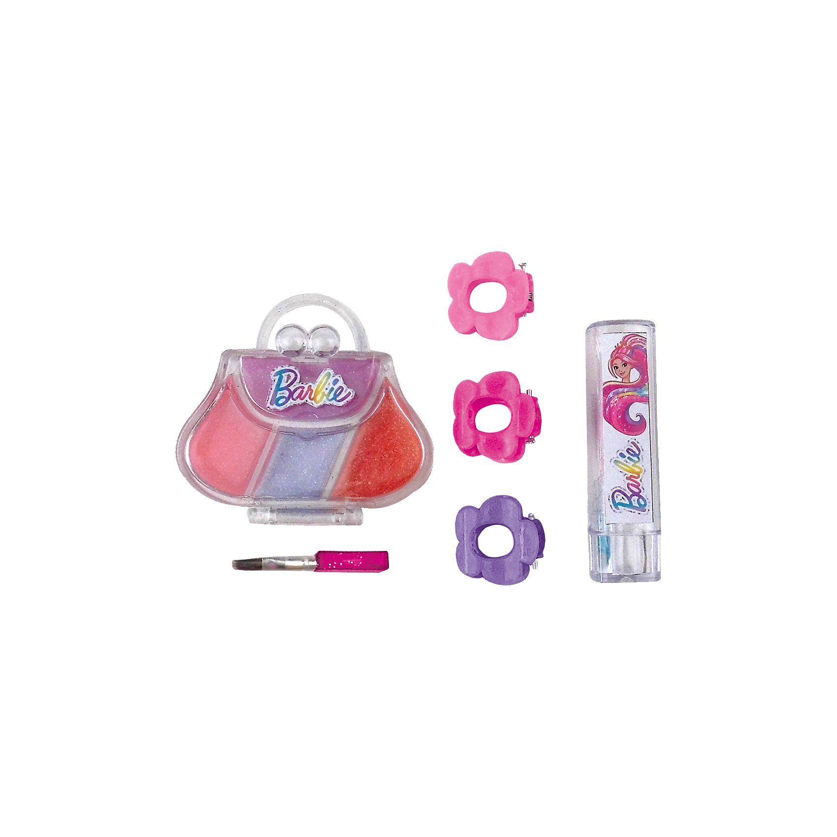 Happy People Barbie Lipgloss-Set Handtasche