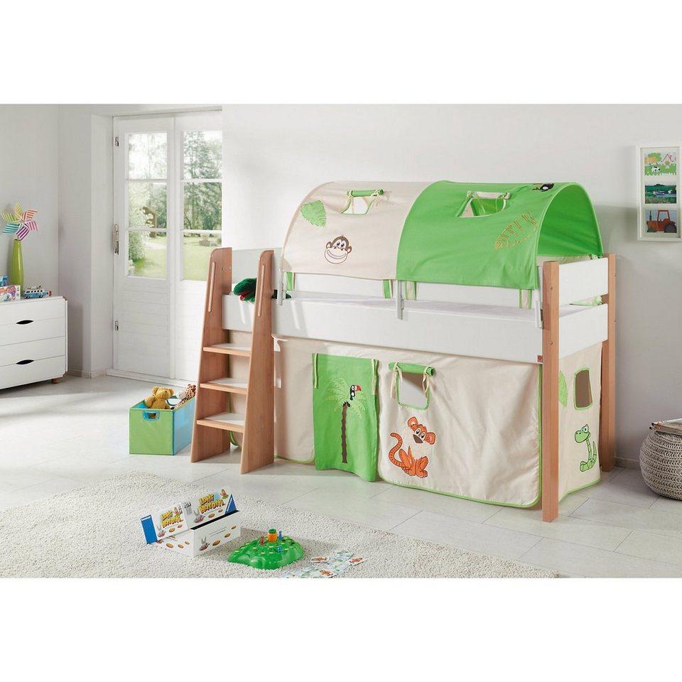 kinderbett dschungel. Black Bedroom Furniture Sets. Home Design Ideas