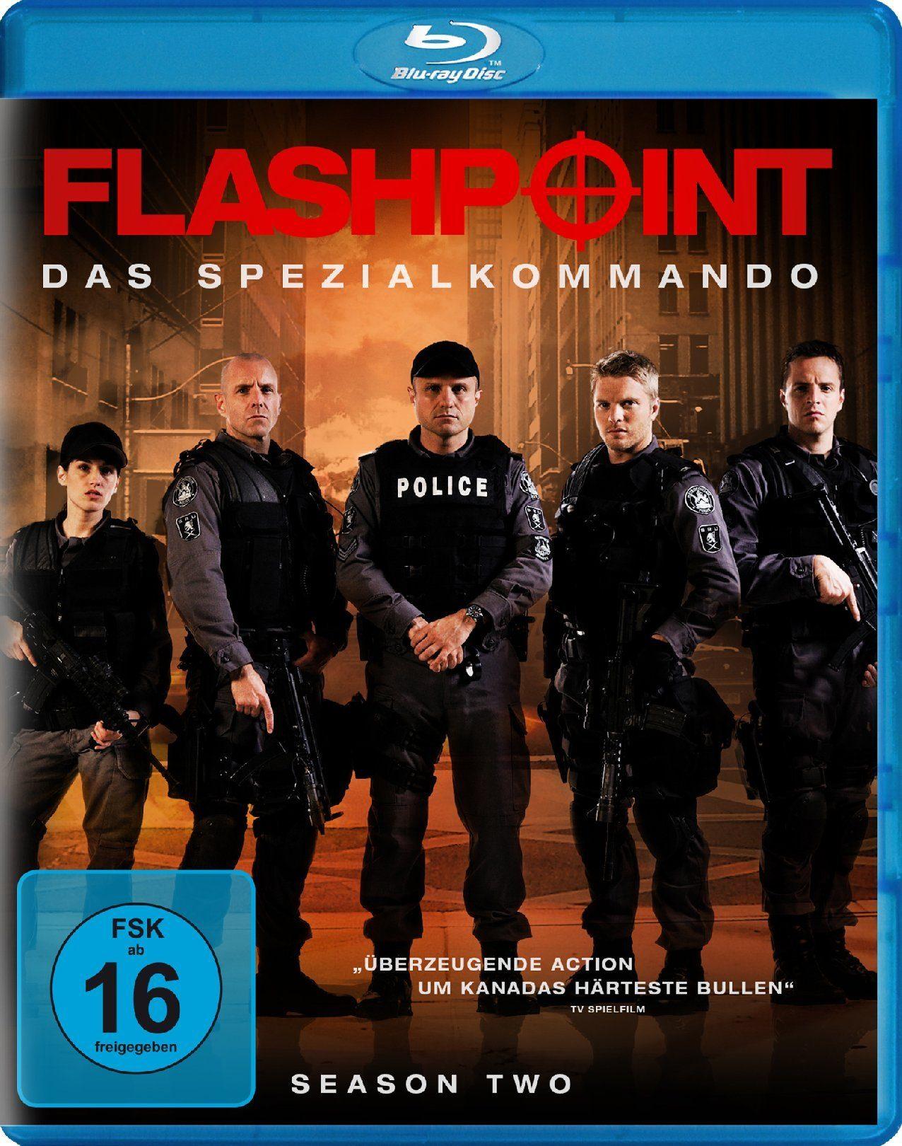 Koch Media Flashpoint - Das Spezialkommando Staffel 2 (2 Blu-rays) »Blu-ray«