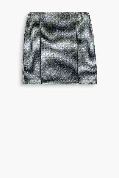 ESPRIT Minirock aus Tweed mit Hahnentrittmuster