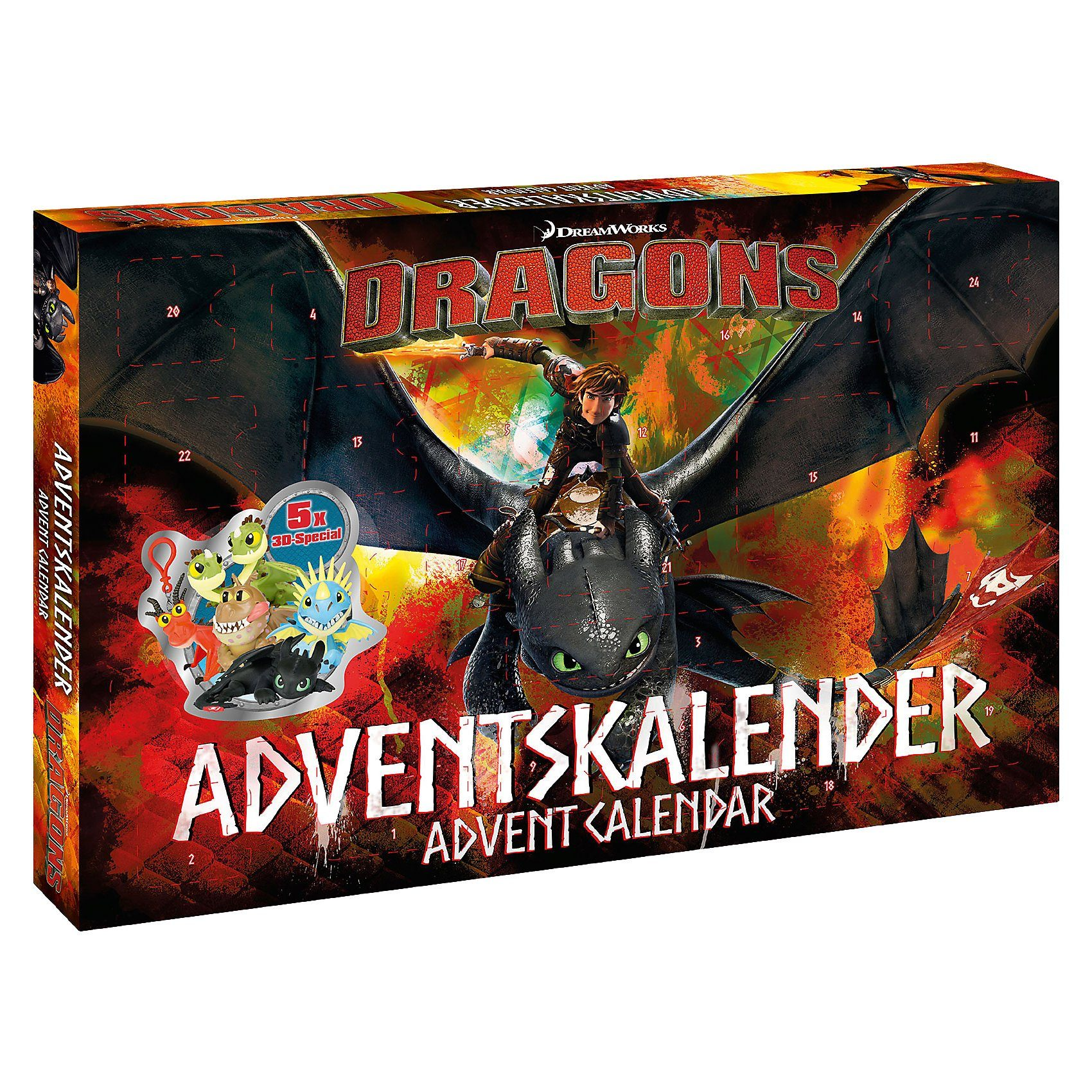 CRAZE Adventskalender - Dragons