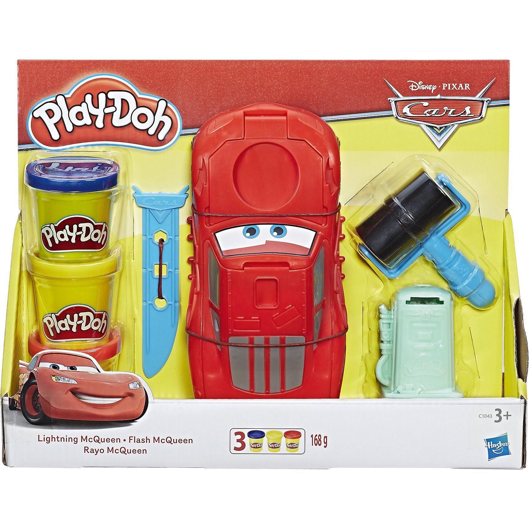 Hasbro Play-Doh Cars Lightning McQueen