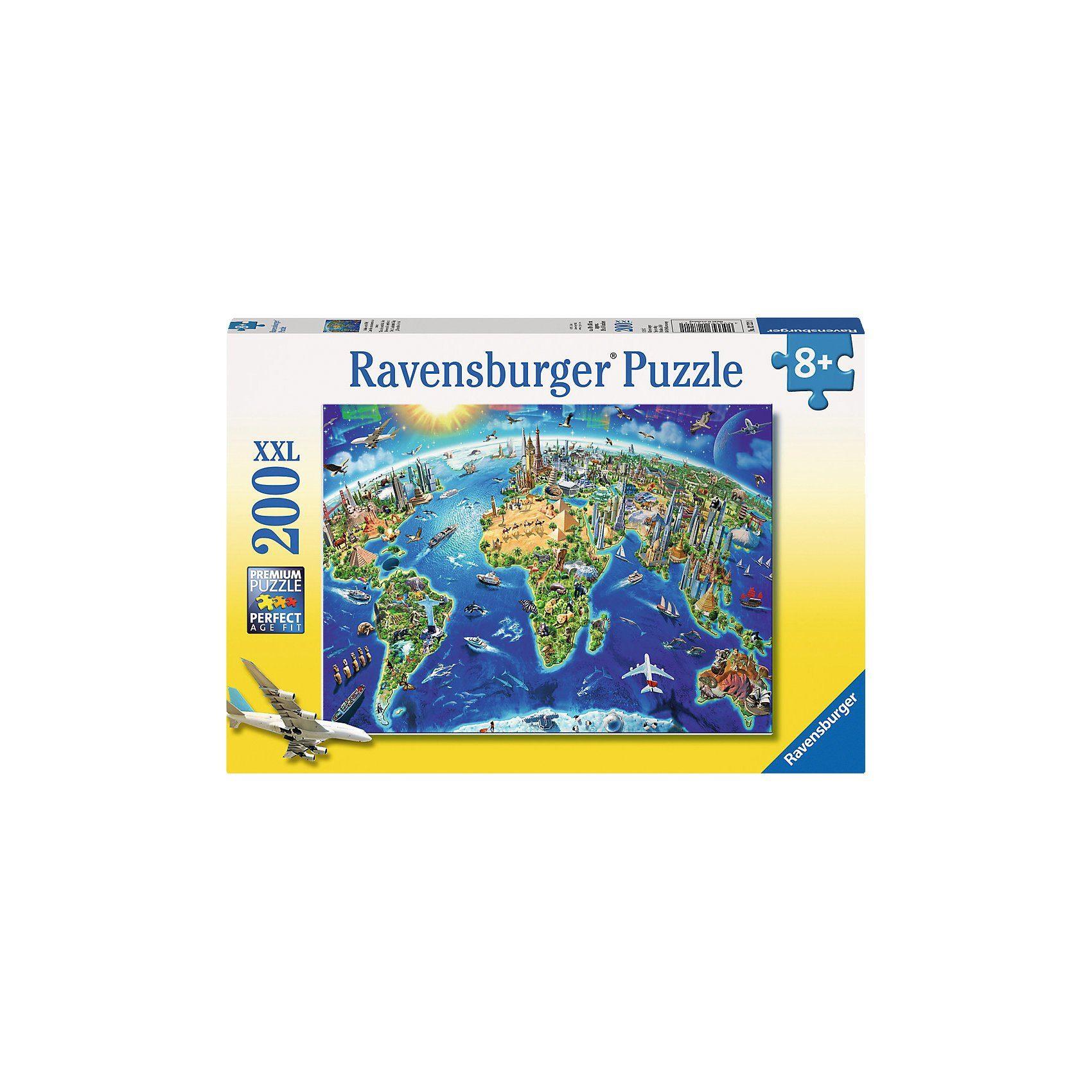 Ravensburger Große, weite Welt 200 Teile XXL Puzzle