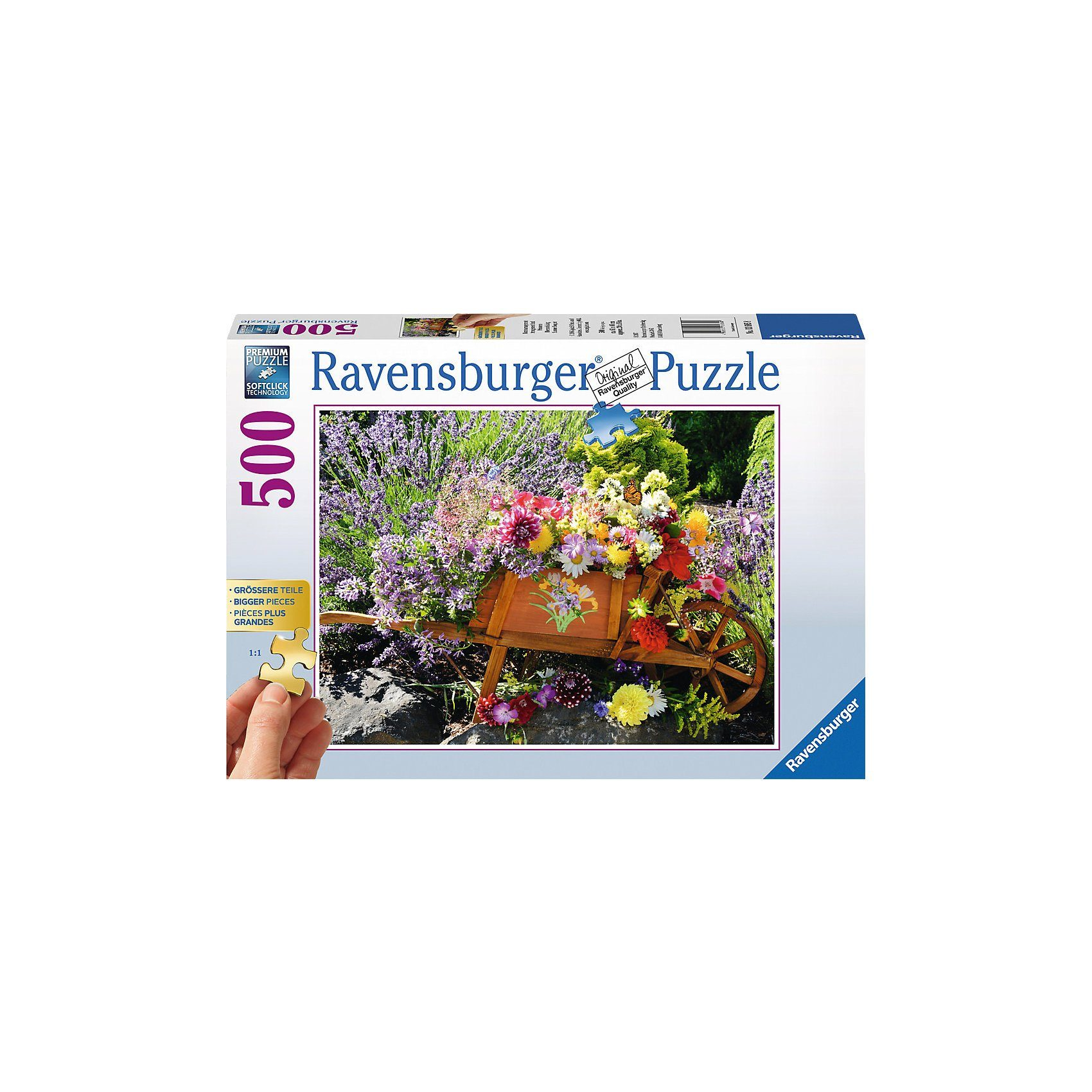 Ravensburger Blumenarrangement 300/500 Teile Gold Edition