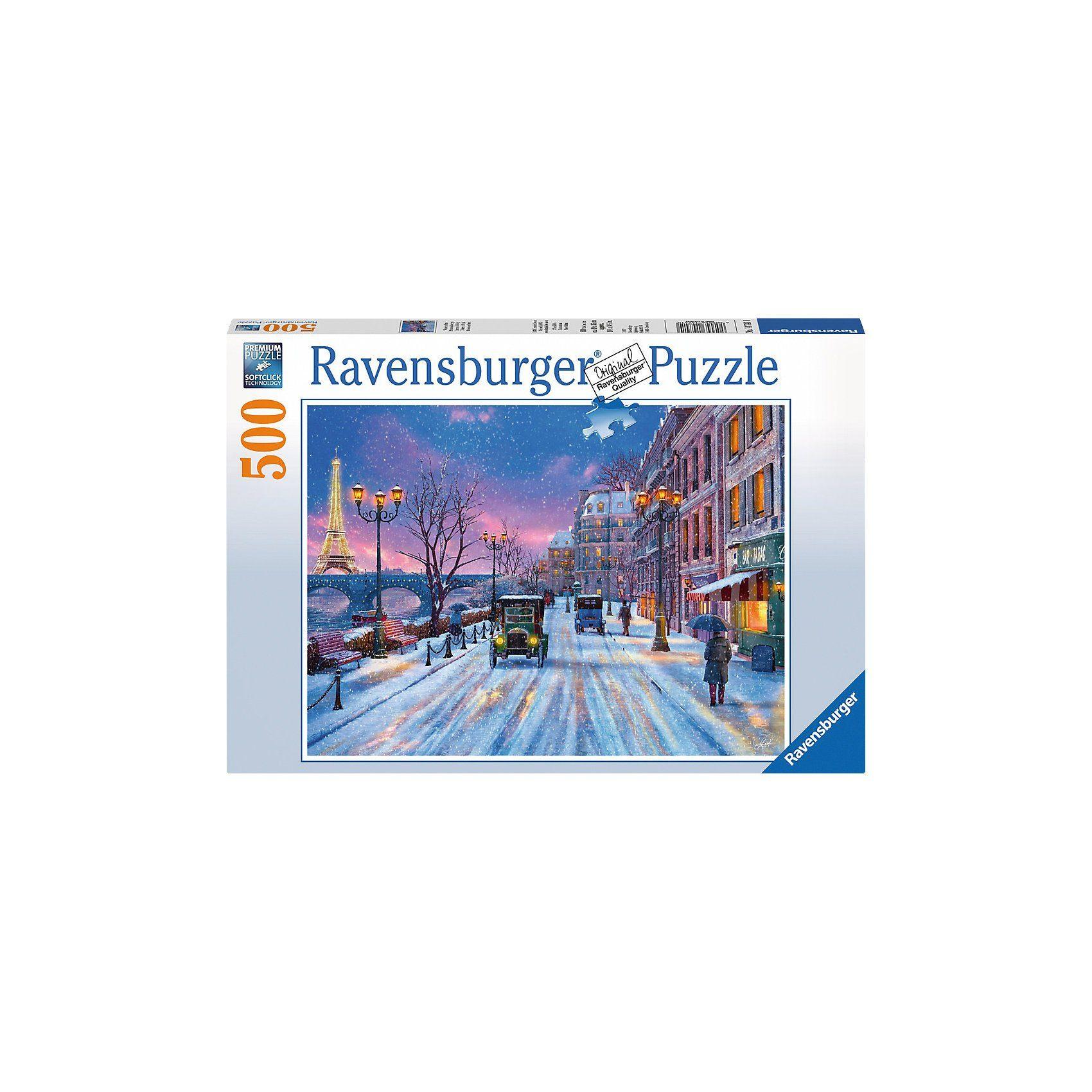 Ravensburger Winter in Paris 500 Teile Puzzle