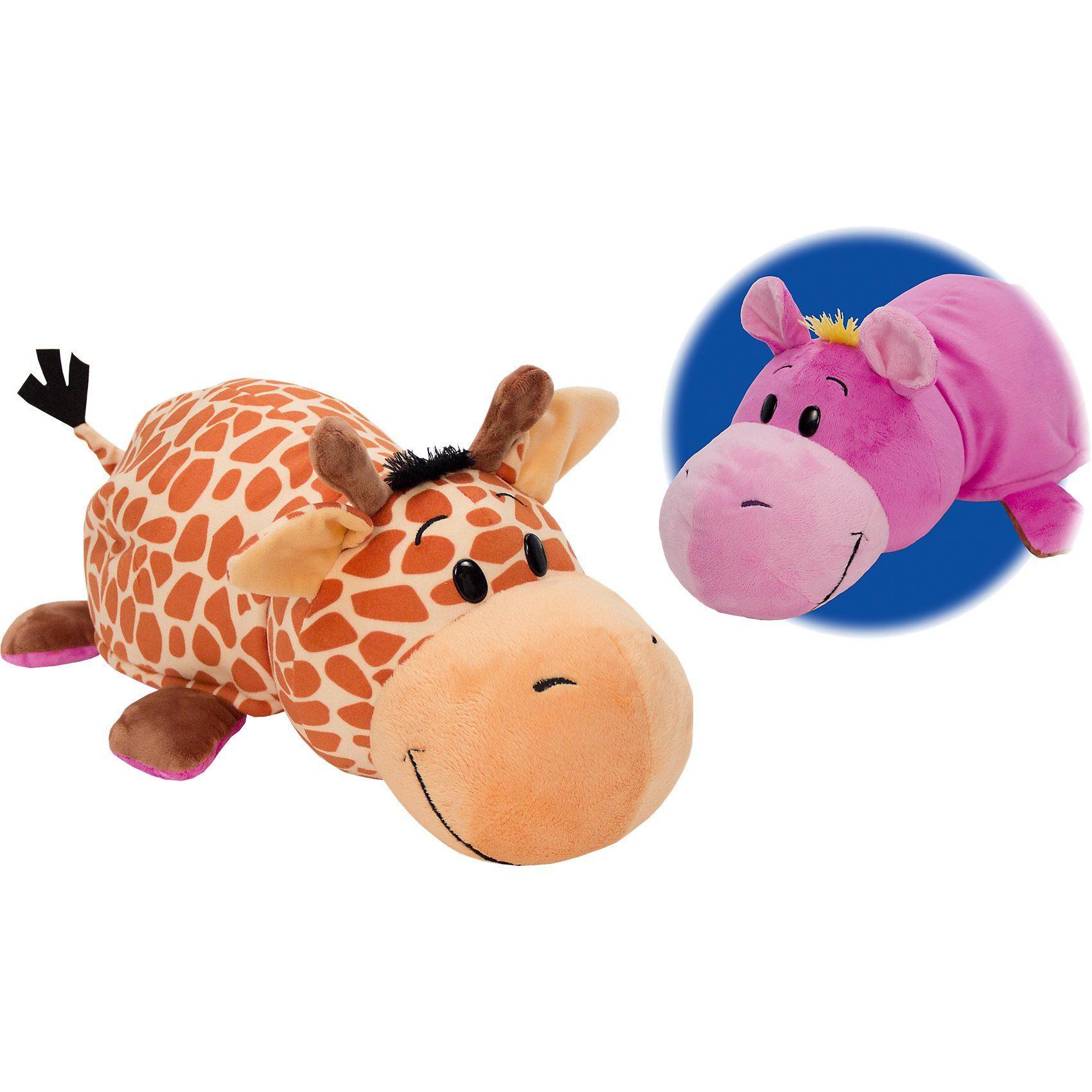 Vivid® Flip-a-Zoo Giraffe/Lila Tiger