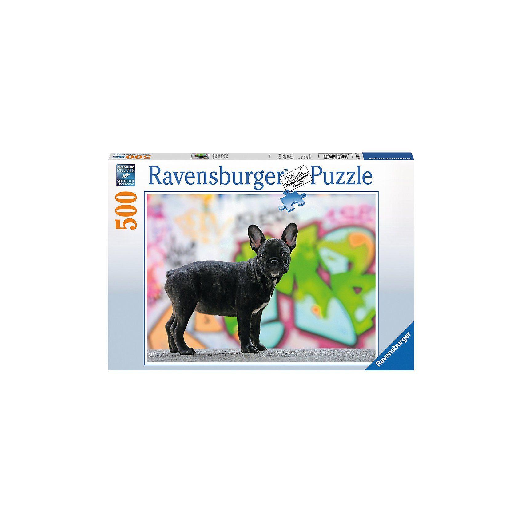 Ravensburger Französische Bulldogge 500 Teile Puzzle
