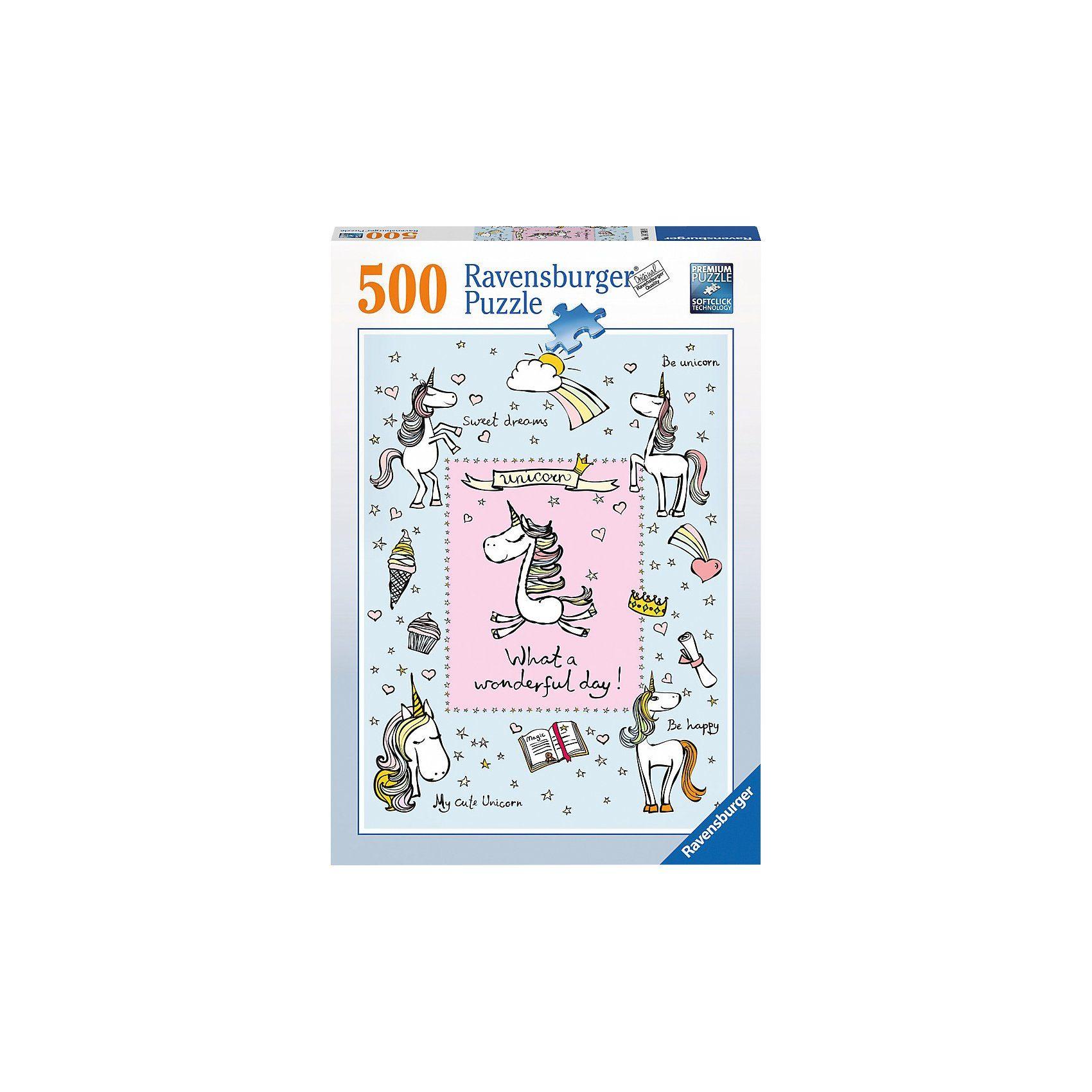 Ravensburger Einhornliebe 500 Teile Puzzle