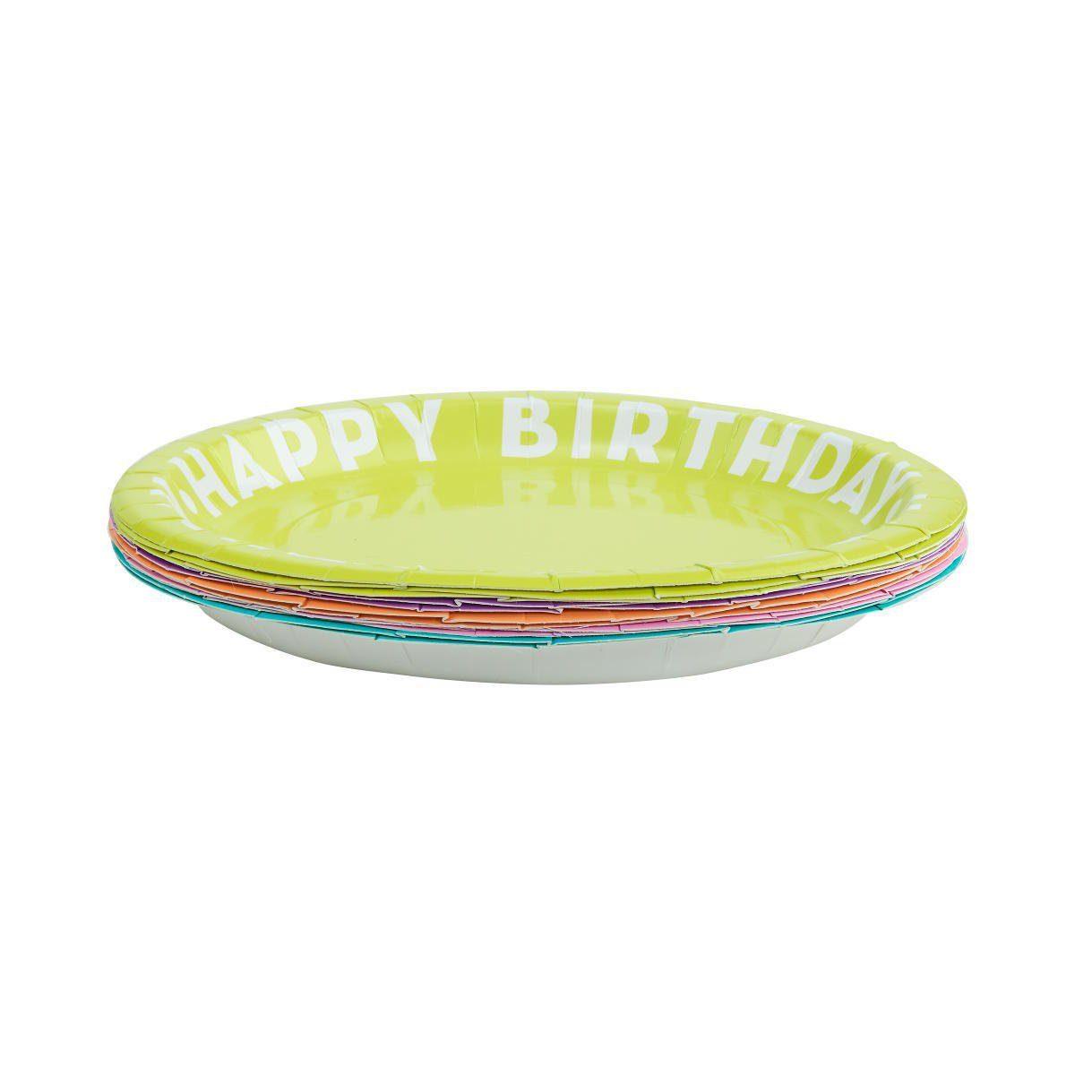 BUTLERS HAPPY BIRTHDAY »Pappteller Ø 23 cm«