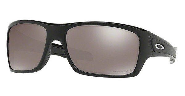 Oakley Herren Sonnenbrille »TURBINE OO9263«, schwarz, 926315 - schwarz/grün