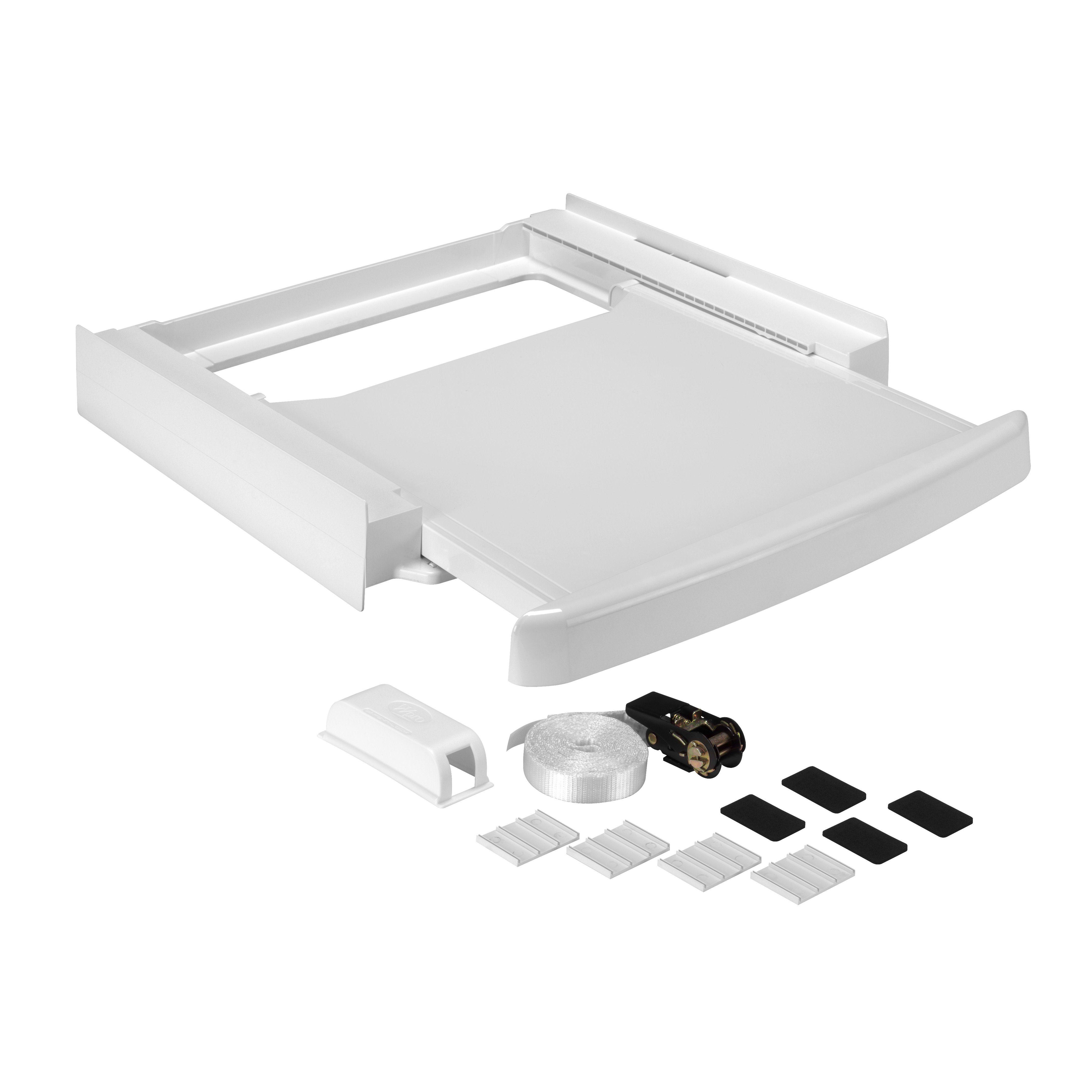 WPRO Verbindungsrahmen für Waschmaschine/Trockner, alle Marken »SKS101«