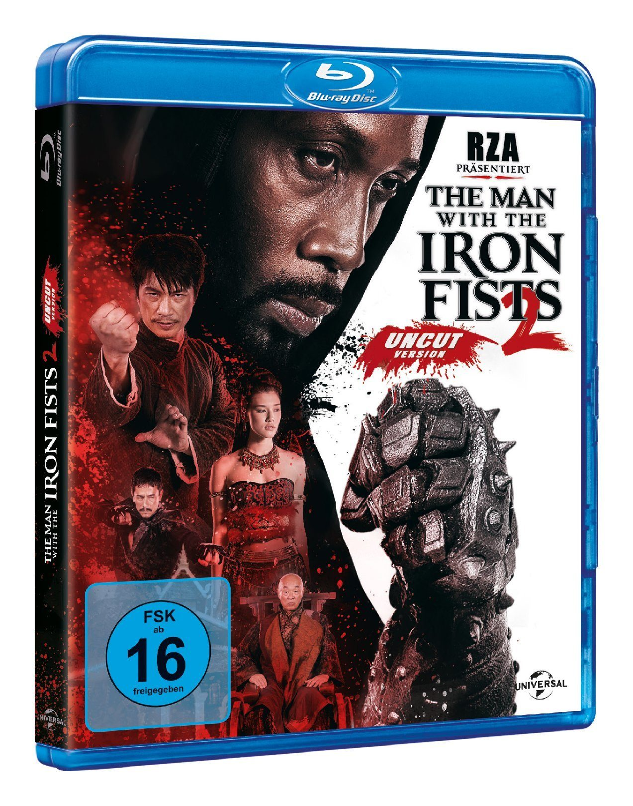 Universal The Man with the Iron Fists 2 (uncut) »Blu-ray«