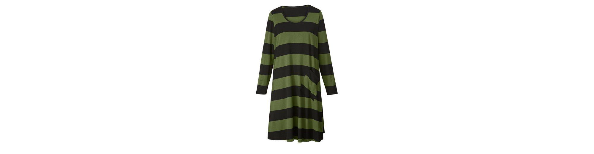 Sara Lindholm by Happy Size Jersey-Kleid gestreift Rabatt Niedrigster Preis Verkauf Online Räumungsverkauf Online Billig Verkauf Bestes Geschäft Zu Bekommen N1e1SbXK