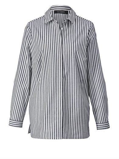 Sara Lindholm By Happy Size Blouse Striped