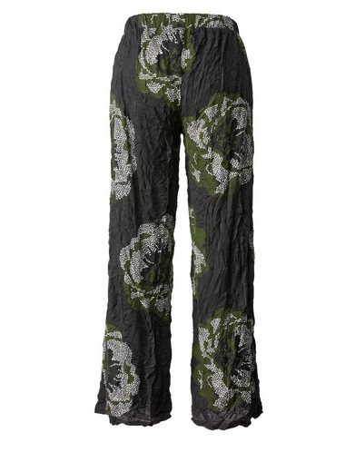 Sara Lindholm By Happy Size Crash-hose Mit Blumen-print