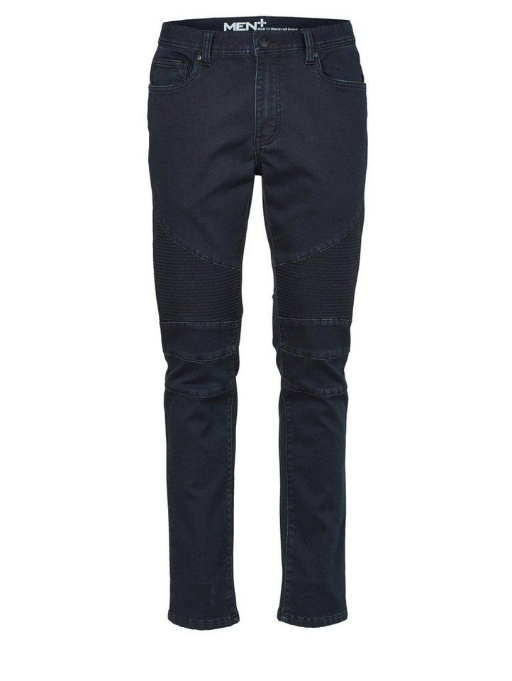men plus by happy size biker jeans aus jog denim otto. Black Bedroom Furniture Sets. Home Design Ideas
