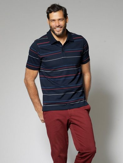 Men Plus by Happy Size Poloshirt gestreift