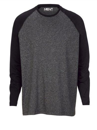 Men Plus by Happy Size Langarmshirt