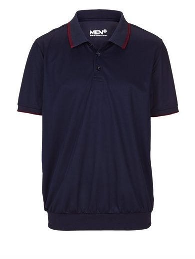 Men Plus by Happy Size Spezial-Bauchschnitt Poloshirt