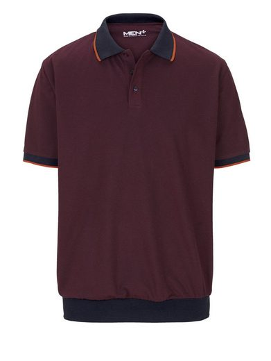 Men Plus By Happy Size Special-belly Cut Polo Shirt
