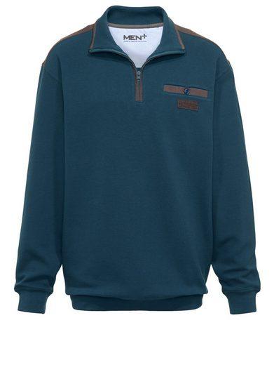 Men Plus by Happy Size Spezialschnitt Sweatshirt