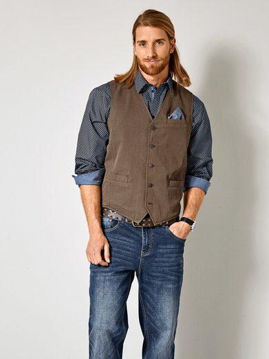 Hommes Plus Par Taille Heureuse Hemd