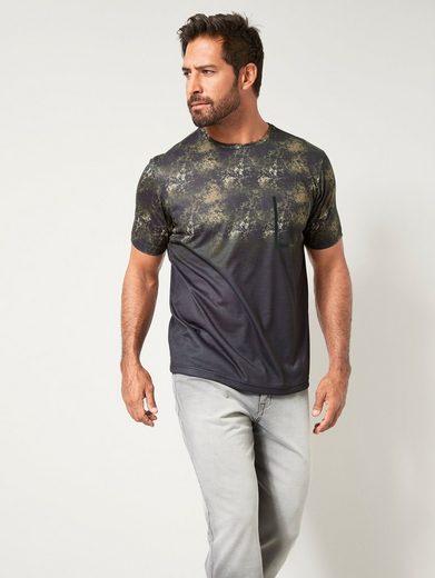 Men Plus by Happy Size T-Shirt schnelltrocknend