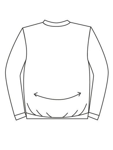 Men Plus by Happy Size Spezial-Bauchschnitt Henleyshirt